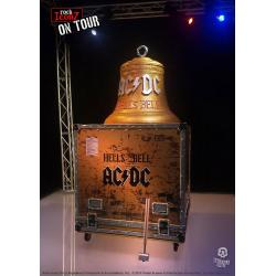 AC/DC Rock Ikonz On Tour Statues Hell\'s Bell