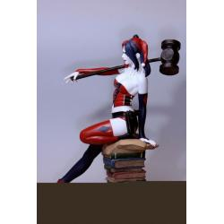 DC Comics Fantasy Figure Gallery Estatua 1/6 Harley Quinn (Luis Rojo) Web Exclusive 43 cm