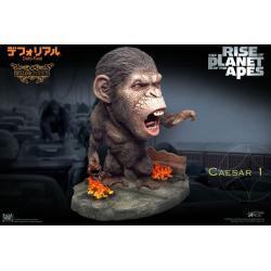 El origen del planeta de los simios Estatua Deform Real Series Soft Vinyl Caesar Chain Ver. Deluxe