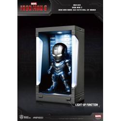 Iron Man 3 Mini Egg Attack Action Figure Hall of Armor Iron Man Mark XXX 8 cm
