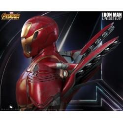 Bust Iron Man Battle Damaged Mark 50 Queen Studio
