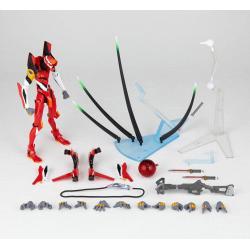 Evangelion Figura Revoltech EV-005S EVA Unit 02 New Packaging Ver. 14 cm