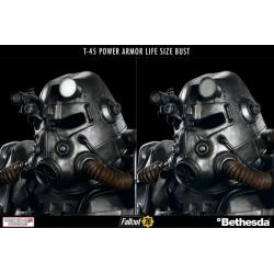 Fallout Life-Size Bust T-45 Power Armor 76 cm