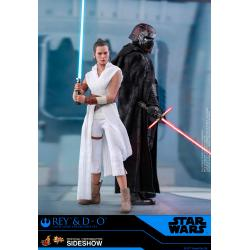 Rey and D-O Sixth Scale Figure Set by Hot Toys Star Wars: The Rise of Skywalker - Movie Masterpiece Series