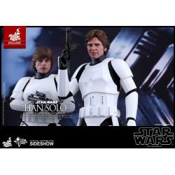 STAR WARS: EPISODE IV A NEW HOPE HAN SOLO STORMTROOPER DISGUISE VERSION 1/6TH SCALE COLLECTIBLE FIGURE (HOT TOYS EXCLUSIVE)