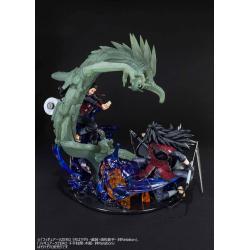 Naruto Shippuden Estatua PVC FiguartsZERO Uchiha Madara Isou Susanoo Kizuna Relation 19 cm