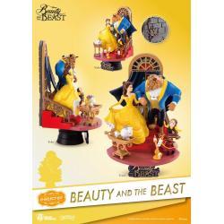 La bella y la bestia Diorama PVC D-Select 15 cm