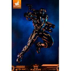 Neon Tech War Machine Sixth Scale Figure by Hot Toys Movie Masterpiece Series Diecast - Iron Man 2