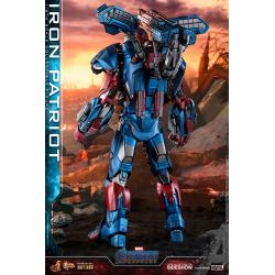 Iron Patriot Sixth Scale Figure by Hot Toys DIECAST - Avengers: Endgame - Movie Masterpiece Series