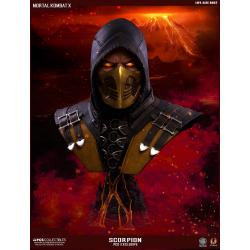 Mortal Kombat X Busto 1/1 Scorpion Hellfire Exclusive 76 cm