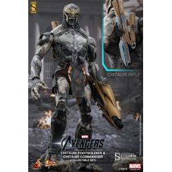 The Avengers:Chitauri Commander and Footsoldier Sixth Scale Figure Set