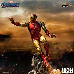 Vengadores Endgame Estatua BDS Art Scale 1/10 Iron Man Mark LXXXV 29 cm