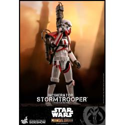 Incinerator Stormtrooper Sixth Scale Figure by Hot Toys The Mandalorian - Television Masterpiece Series