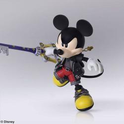 Kingdom Hearts III Bring Arts Figura King Mickey 9 cm