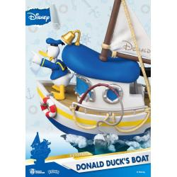 Disney Summer Series D-Stage PVC Diorama Donald Duck\'s Boat 15 cm