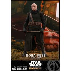 Boba Fett™ (Deluxe Version) Sixth Scale Figure Set by Hot Toys Television Masterpiece Series – Star Wars: The Mandalorian™