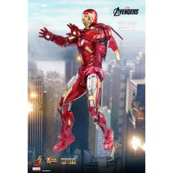 DIECAST THE AVENGERS IRON MAN MARK VII ROBERT DOWNEY JR. 1/6 COLLECTIBLE FIGURINE 32.5CM