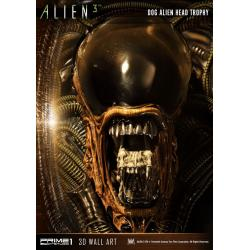 Alien 3 3D Wall Art Dog Alien Open Mouth Version 58 cm