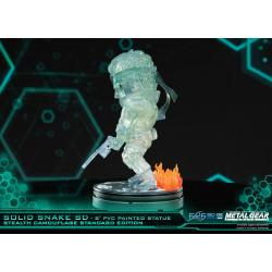 Metal Gear Solid Estatua PVC SD Solid Snake Stealth Camouflage Ver. 20 cm