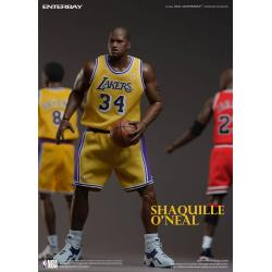 NBA Collection Real Masterpiece Actionfigur 1/6 Shaquille O\'Neal 37 cm