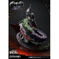 Dark Nights: Metal Statue Batman Versus Joker Dragon 87 cm