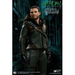 Arrow Figura Real Master Series 1/8 Green Arrow 2.0 Deluxe Version 23 cm
