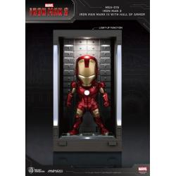 Iron Man 3 Mini Egg Attack Action Figure Hall of Armor Iron Man Mark III 8 cm