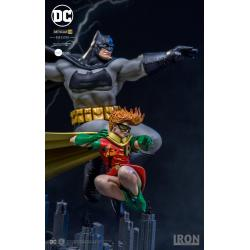 DC Comics Estatua Art Scale Deluxe 1/10 Batman & Robin (Dark Knight Returns) 23 cm
