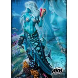 ARH ComiX Statue 1/4 Sharleze The Mermaid Blue Skin 53 cm