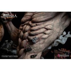 Attack on Titan Elite Exclusive Statue Eren vs Armored Titan 61 cm