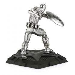Marvel Pewter Collectible Statue Captain America First Avenger 12 cm