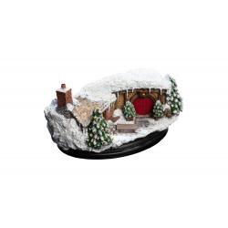 The Hobbit An Unexpected Journey Statue 35 Bagshot Row Christmas Edition 7 cm