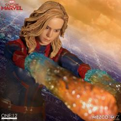 Captain Marvel Action Figure 1/12 Captain Marvel 16 cm