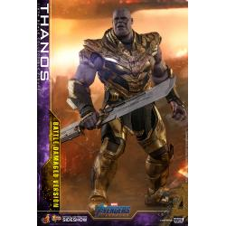 Thanos (Battle Damaged Version) Sixth Scale Figure by Hot Toys Avengers: Endgame - Movie Masterpiece Series