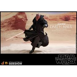 Darth Maul with Sith Speeder Sixth Scale Figure by Hot Toys Episode I: The Phantom Menace - DX Series