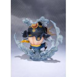 One Piece FiguartsZERO PVC Statue Monkey D. Luffy Gear 4 Leo Bazooka 18 cm