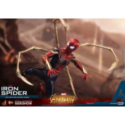 Iron Spider Sixth Scale Figure by Hot Toys Avengers: Infinity War - Movie Masterpiece Series