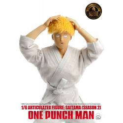 One Punch Man Action Figure 1/6 Saitama (Season 2) Deluxe Version 30 cm