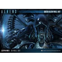 Aliens 3D Wall Art Queen Alien 33 x 57 cm