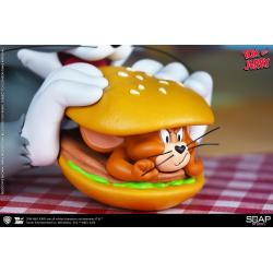 Tom and Jerry: Tom and Jerry Burger Vinyl Bust