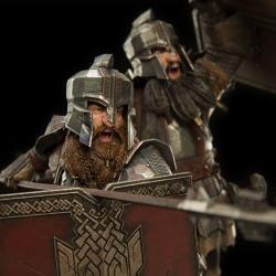 El hobbit La batalla de los Cinco Ejércitos Estatua 1/6 Dwarves of the Iron Hills