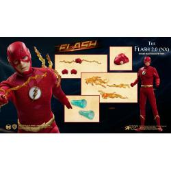 The Flash Figura Real Master Series 1/8 The Flash 2.0 Normal Version 23 cm