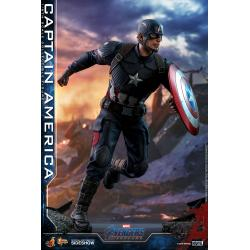 Captain America Sixth Scale Figure by Hot Toys Avengers: Endgame - Movie Masterpiece Series
