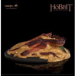 El Hobbit La Desolación de Smaug Estatua Smaug King Under The Mountain 8 cm