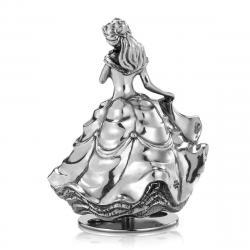 Disney Princess Caja de música Music Carousel Belle 11 cm