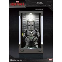 Iron Man 3 Mini Egg Attack Action Figure Hall of Armor Iron Man Mark I 8 cm