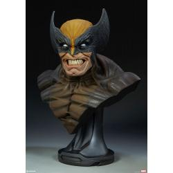 Wolverine Life-Size Bust by Sideshow Collectibles