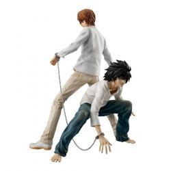 Death Note G.E.M. PVC Statue Yagami Light & L 24 cm
