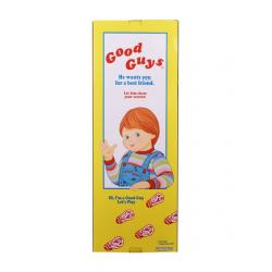Chucky: el muñeco diabólico 2 Réplica 1/1 Caja Good Guys