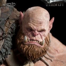 Warcraft Estatua 1/10 Orgrim 33 cm